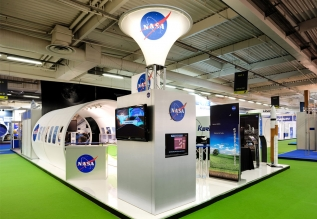 NASA/Paris Air-show (30 x 40 Display)